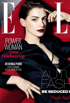 Can You Spot the Photoshop Blunder on Anne Hathaway's ELLE Cover? (Forum Buzz)