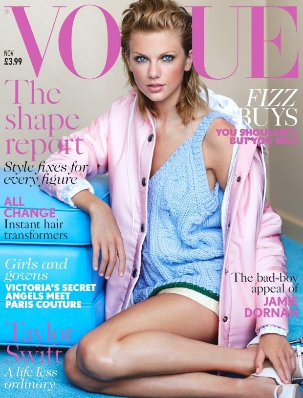 Taylor Swift On the cover of UK Vogue November 2014