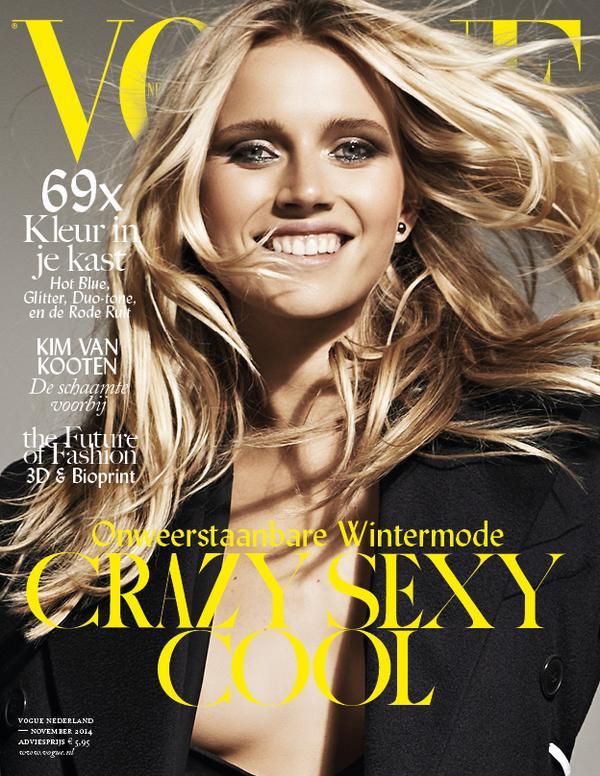 Vogue Netherlands November 14 Cato Van Ee