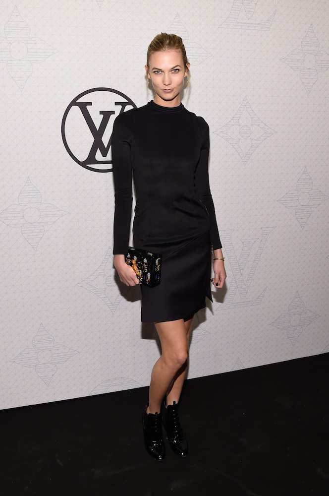 Karlie Kloss Louis Vuitton Monogram Celebration