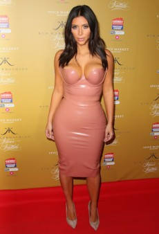 Was Kim Kardashian Plastic-fantastic in Latex Couture?