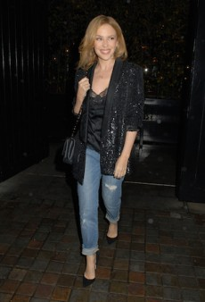Get the Look: Make Denim After-Five Ready Like Kylie Minogue
