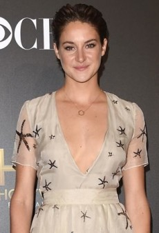 Shailene Woodley Shines in a Star-Accented Valentino Gown
