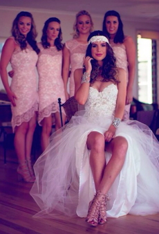 Blogger Ally Carey's Fashionable Friends Helped Create Her Perfect Wedding Day