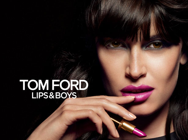 CAMPAIGN IMAGE COURTESY OF TOM FORD BEAUTY