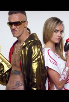 Cara Delevingne Appears in Die Antwoord's Blackface-Riddled Music Video