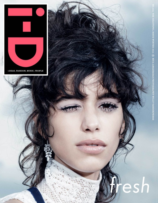 i-D Winter 2014 Mica Arganaraz Willy Vandeperre