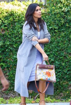 Here's the Bag North West Painted for Kim Kardashian — and It's Not a Birkin