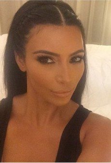 Kim Kardashian Claims She Started the 'Selfie Movement' in Her New Book