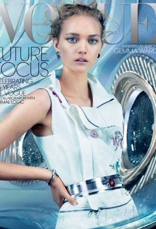 Vogue Australia December 2014 Gemma Ward