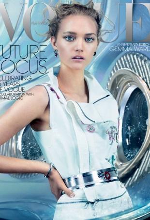 Vogue Australia December 2014 Gemma Ward