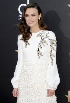 Red Carpet Trend: Blossoms in the Snow