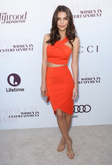 Emily Ratajkowski Brightens Up in Bec & Bridge for the 23rd Annual Women in Entertainment Breakfast