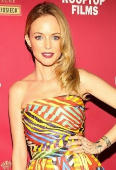 Heather Graham Shows Her Stripes in Naeem Khan