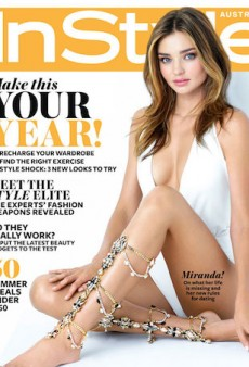 Miranda Kerr Talks Dating, Past Relationships and That Victoria's Secret Contract as InStyle's Cover Girl
