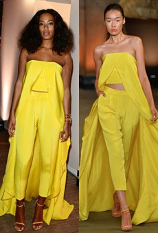 Runway to Real Life: Charlotte Gainsbourg in Louis Vuitton, Solange Knowles in Christian Siriano and More (Forum Buzz)