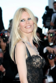 Claudia Schiffer Launching Schwarzkopf Hair Line Stateside