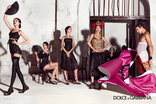 Dolce & Gabbana Ad Campaign Spring 2015