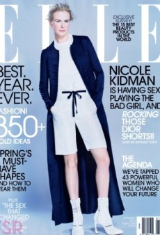 Nicole Kidman's Brand New ELLE Cover Pretty Much Sucks (Forum Buzz)