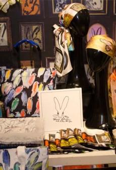 The Hunt Slonem x Echo Design Collab Debuts At Bloomingdale's