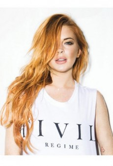 Lindsay Lohan's New Clothing Line Is One Big Addiction Joke