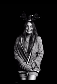 Watch: Lindsay Lohan Shakes It for LOVE's Advent Calendar