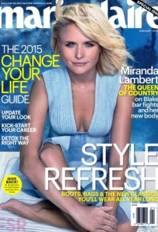 Marie Claire Gets Miranda Lambert to Pose Poolside for Its January Cover (Forum Buzz)