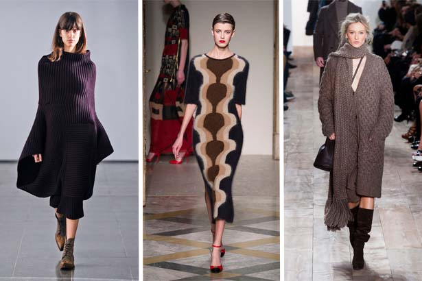 Fall 2014 Sweater Dresses Michael Kors Fall