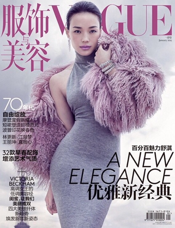 Vogue China January 2015 Shu Qi