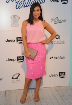 Brights and Feminine Monochrome for Magic Millions' Opening Night