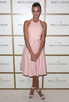 Australia's Finest Step Out for Melbourne's Moët & Chandon Event with Roger Federer