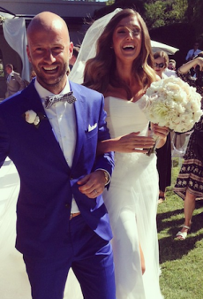 Look Inside Model Carlie Grima and Simon Philby's Bowral Wedding