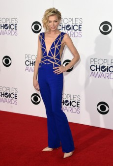 Portia de Rossi Surprises in a Revealing Jumpsuit at People's Choice Awards