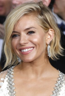 Get the Look: Sienna Miller's Textured Waves and Glowy Skin