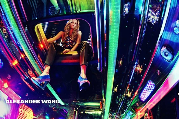 Ad Campaign Alexander Wang Spring 2015 Anna Ewers