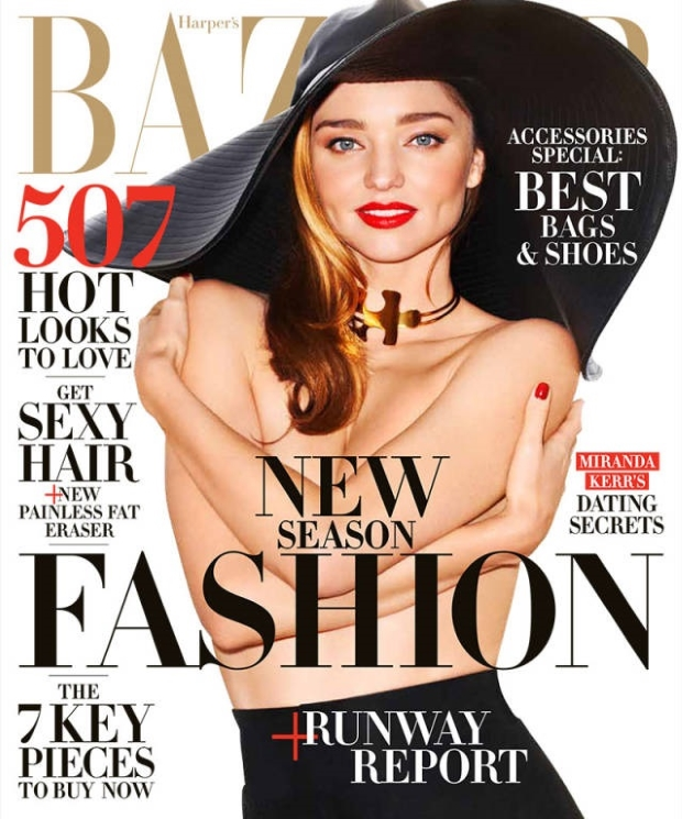 US Harper's Bazaar February 2015 Miranda Kerr