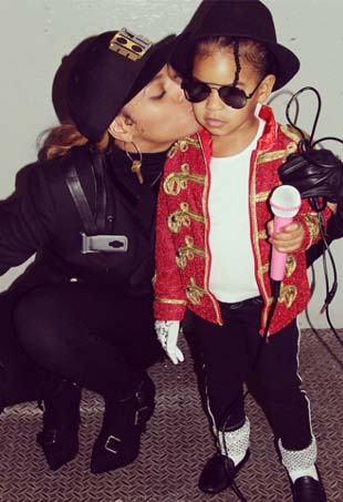 Beyonce and Blue Ivy; Image: Instagram