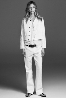 Sasha Pivovarova Is the Star of Frame Denim's Chic Spring 2015 Campaign
