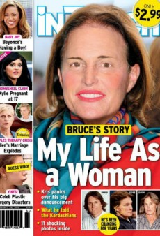 Bruce Jenner's Head Was Superimposed Onto a 'Dynasty' Star's Torso on In Touch