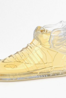 Jeremy Scott's New Adidas Originals Fragrance Comes in a Replica of His Famous Winged Sneaker