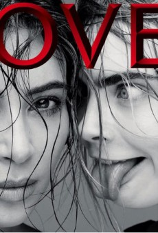 Cara Delevingne Interviews Kim Kardashian for LOVE