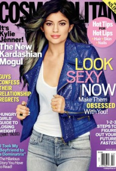 Kylie Jenner Covers Cosmopolitan's February Issue, Addresses Plastic Surgery Rumors