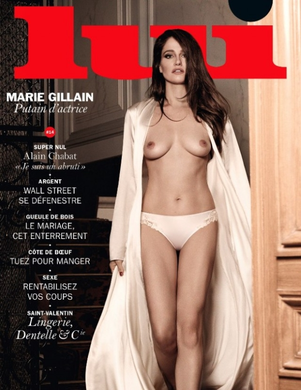 Lui Magazine February 2015 Marie Gillain