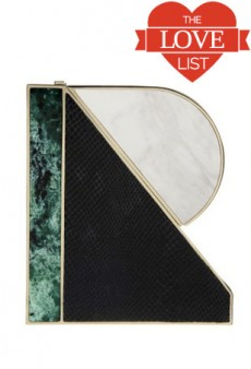 Initial Clutches, Galaxy Rugs and More: The Love List