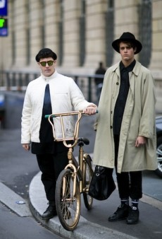 51 Snazzy Street Style Snaps from Paris Men's Fashion Week Fall 2015