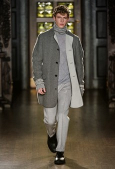 Pringle of Scotland Men's Fall 2015 Runway