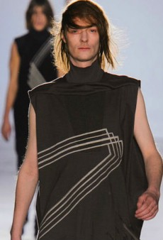 Rick Owens on His Revealing Men's Runway Show