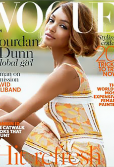 Jourdan Dunn FINALLY Gets That Vogue UK Solo Cover
