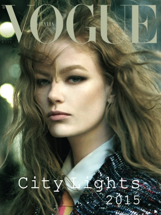 Vogue Italia January 2015 Hollie-May Saker Steven Meisel