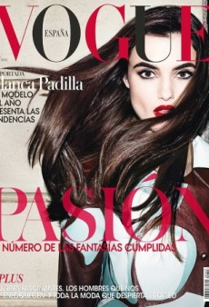 We Blame Photoshop for Blanca Padilla's Harsh First Vogue Cover (Forum Buzz)